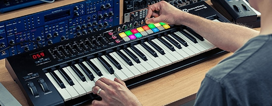 Novation-Launchkey in action