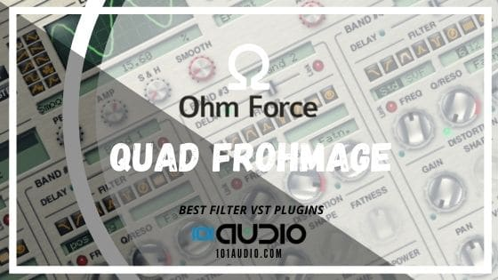 Ohm Force - Quad Frohmage VST Filter