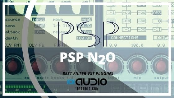 PSP Audioware N2O Filter Plugin