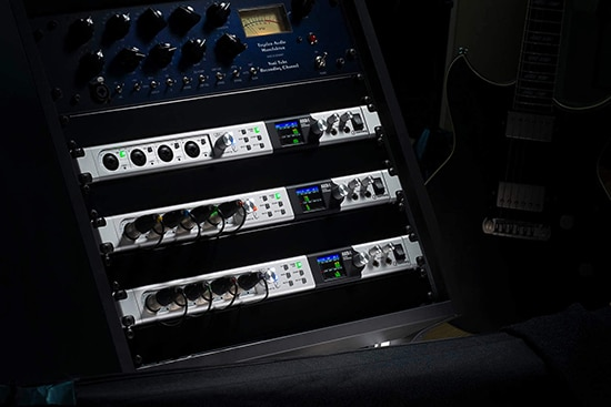 Stacking up 3 AXR4 Audio Interfaces