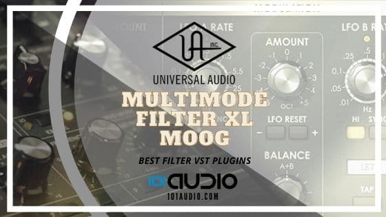UAD - Multimode Filter XL Moog