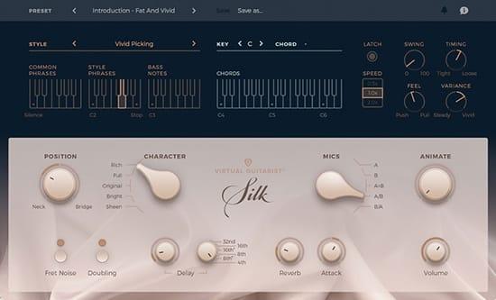 Virtual Guitarist Silk