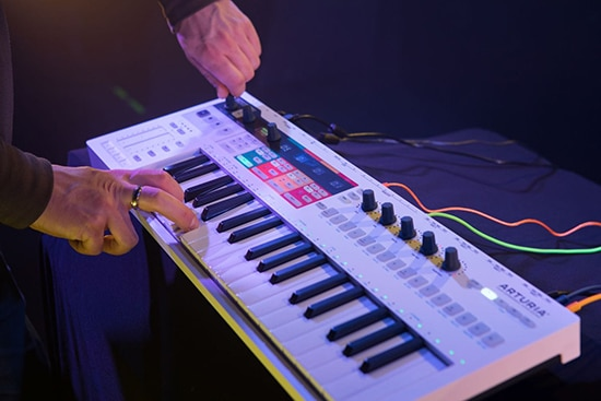keystep-pro-midi keyboard controller