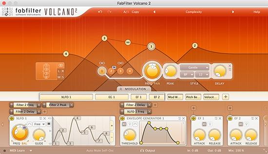 Volcano-2 Filter Plugin