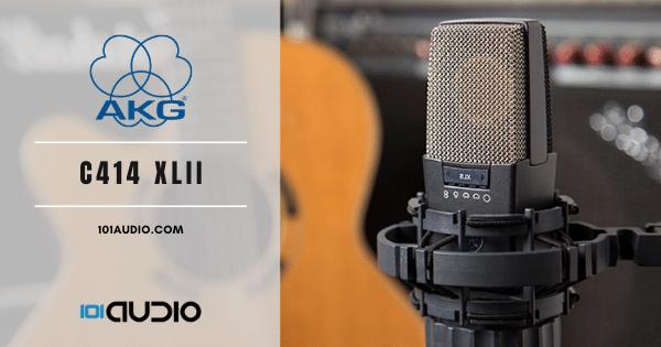 AKG - C414 XLII Condenser Mic Recording Guitar