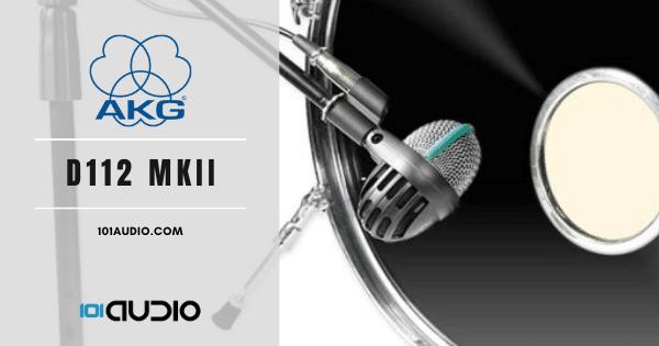 AKG - D112 MKII Kick Drum Mic