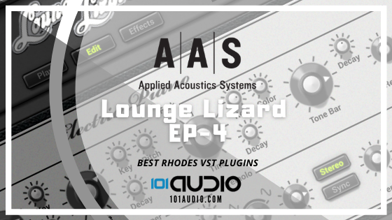 Applied Acoustics Systems Lounge Lizard EP-4 electric piano plugin