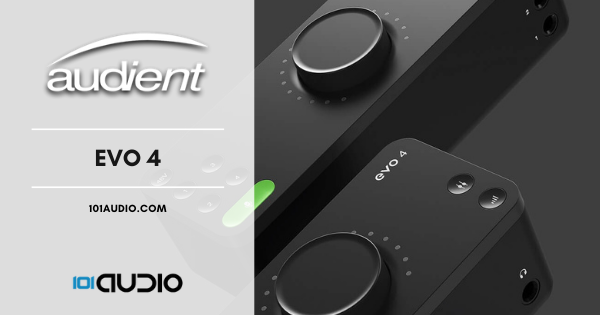 Audient Evo 4 Budget Audio Interface