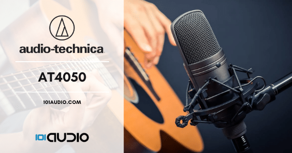 Audio-Technica - AT4050 Mic For Recording Acoustic Guitar