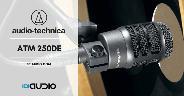 Audio-Technica - ATM250DE Bass kick Drum Mic
