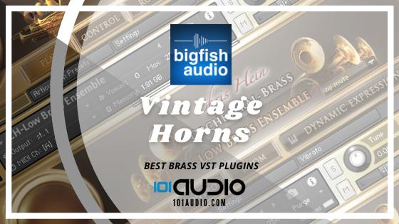 Big Fish - Vintage Horns 2 Plugin