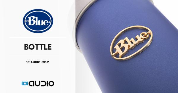 Blue Bottle Mic Condenser Microphone