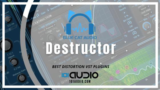 Blue Cat Audio - Destruction Distortion Plugin