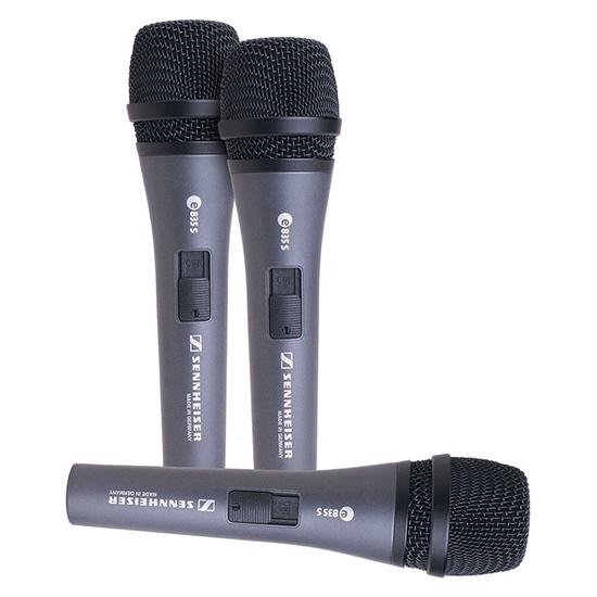 E835 S Dynamic Microphone by Sennheiser