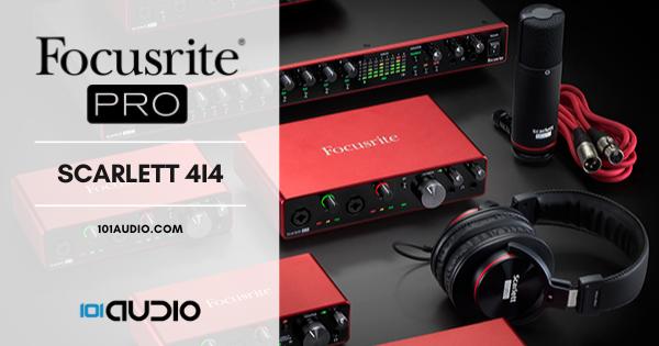 Focusrite Scarlett 4i4 Audio Interface