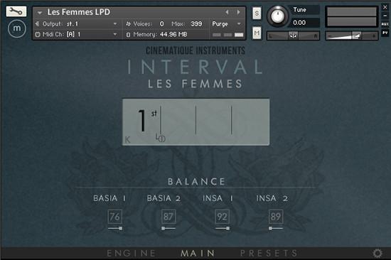 Interval – Les Femmes