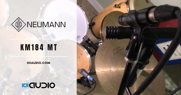 Neumann - KM184 MT Drum Mic Recording Overheads