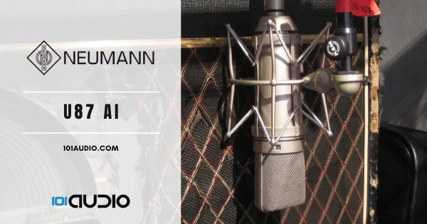 Neumann - U87 Ai Mic Recording Electric Guitar