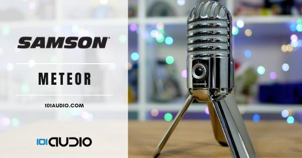 Samson - Meteor USB Studio Condenser Microphone