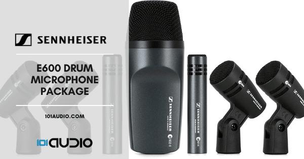 Sennheiser E600 Drum Microphone Package