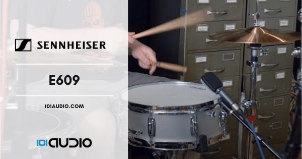 Sennheiser - E609 Mic Recording Drums