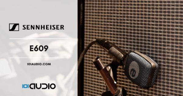 Sennheiser - E609 Mic Recording Electric Guitar