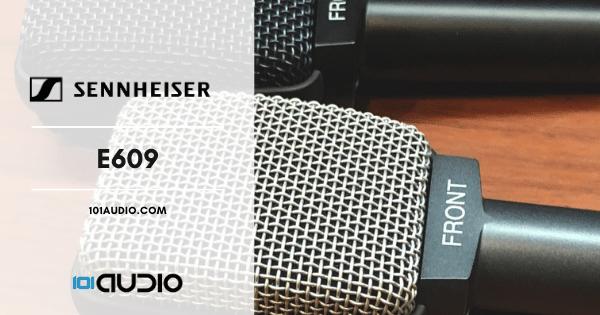 Sennheiser - E609 Mic for Acoustic Guitar