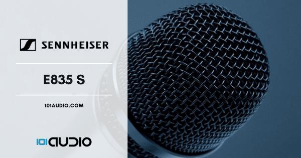 Sennheiser - E835 S Dynamic Microphone