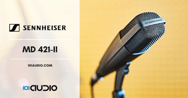 Sennheiser MD 421-II Dynamic Microphone