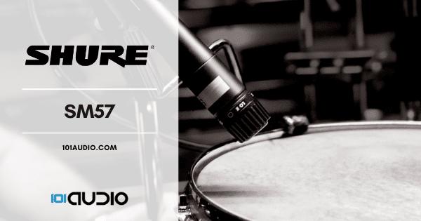 Shure - SM57 Drum Microphone