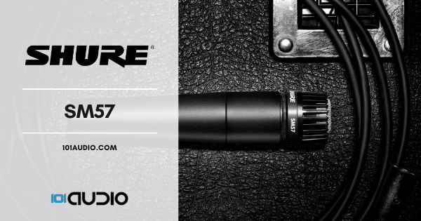 Shure SM57 Dynamic Microphone
