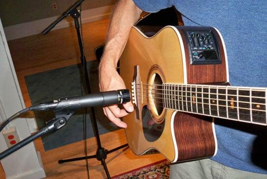 Shure SM57 Recording Guitar