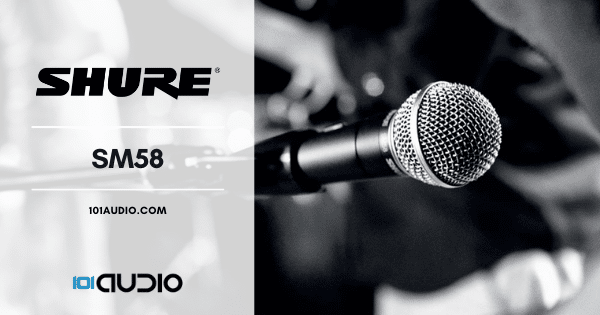 Shure - SM58 Dynamic Microphone