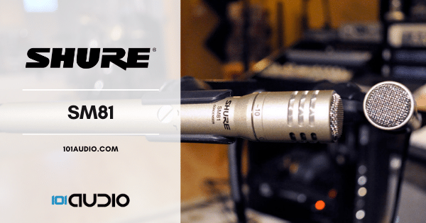 Shure - SM81 Stereo Microphone