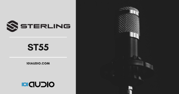 Sterling Audio ST55 Class-A FET Condenser Microphone