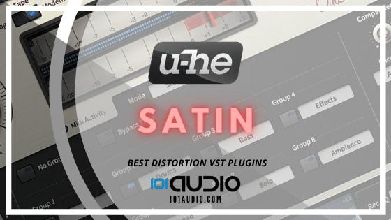 U-HE Satin Tape Saturation Plugin