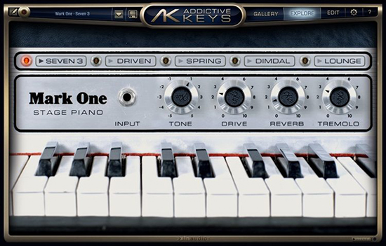 XLN Audio Addictive Keys Mark One