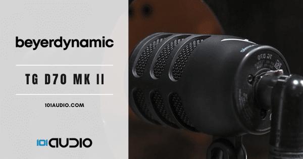 beyerdynamic TG - D70 MK II Bass Kickdrum Mic