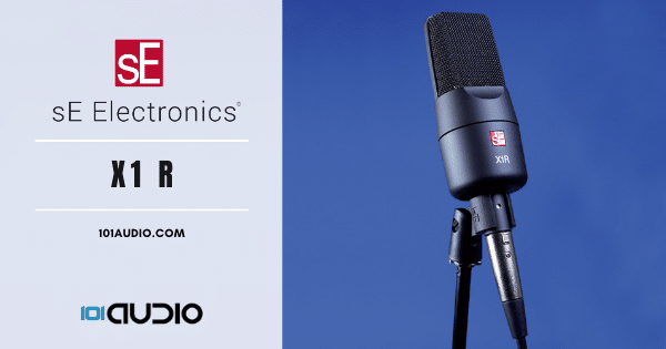 sE Electronics - X1R Ribbon Mic