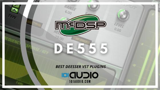 McDSP - DE555 DeEsser VST