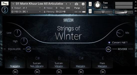 Strings of Winter