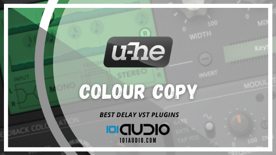 U-He - Colour Copy Delay Plugin